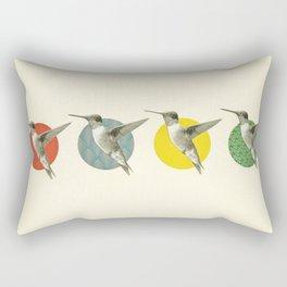 The Hummingbird Dance Rectangular Pillow