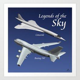 Legends of the Sky Art Print