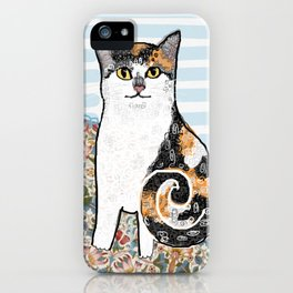 Mattie CatDoodle iPhone Case