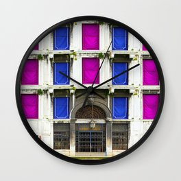 All About Italy. Venice 23 Wall Clock
