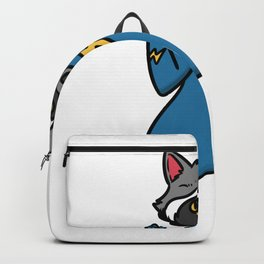 superhero badger Backpack