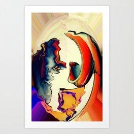 Founder vs Demagogue Art Print