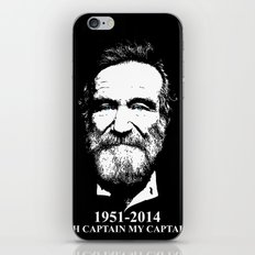 Oh Captain My Captain iPhone & iPod Skin