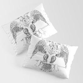 Two-headed eagle as Masonic symbol Pillow Sham
