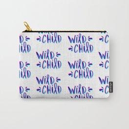 Wild Child – Magenta & Cyan Palette Carry-All Pouch