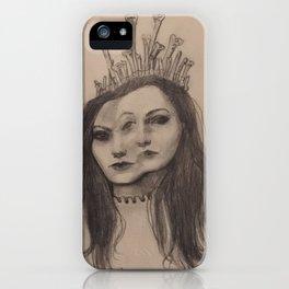 The Bone Queen iPhone Case