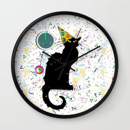 Chat Noir  Party Countdown Wall Clock