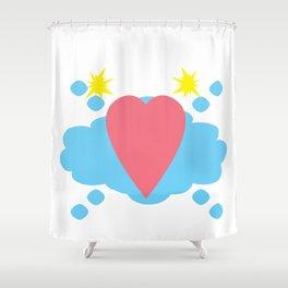 Heartfelt Shower Curtain