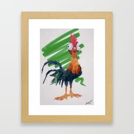Hei Hei Framed Art Print