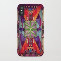 mandala iPhone & iPod Cases featuring Mandala by Aaron Carberry