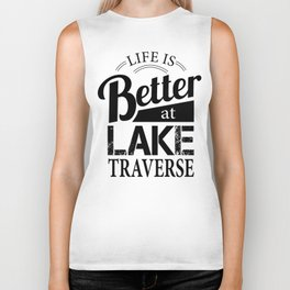 Life is Better Shirt Dark Biker Tank