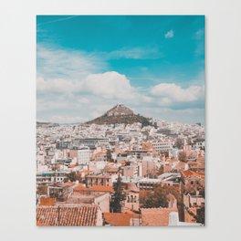 Acropolis in Athens Fine Art Print Canvas Print