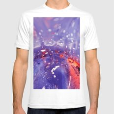 Fantasy Space White MEDIUM Mens Fitted Tee