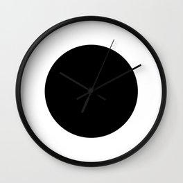 The Circle – Black Wall Clock
