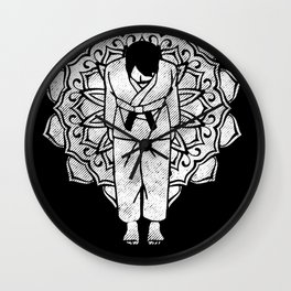 Black belt Wall Clock