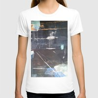 broadway T-shirts featuring Midnight Broadway East No.28 by Xi By Xi Chen