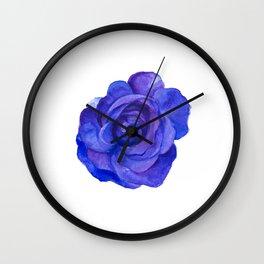 ultraviolet rose. Wall Clock