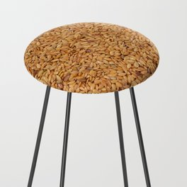 Golden linseed Counter Stool