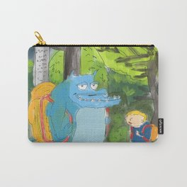 kid ant cute monster in the forest Carry-All Pouch