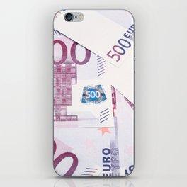 500 Euros bills iPhone Skin
