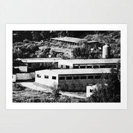 Industrial Spain Art Print