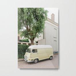 Van Life | The Netherlands travel photography | Bright art print Metal Print