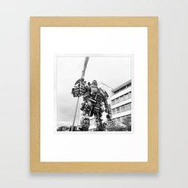 Transformer Framed Art Print