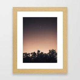 Belizean Sunsest Framed Art Print