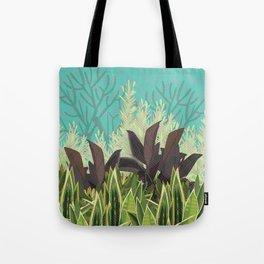Tropical Desert Illustration  Tote Bag