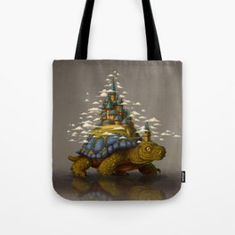 Monster of the Week: Walking Cities of Bas Tote Bag