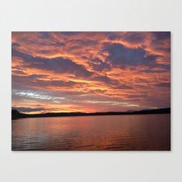 Sunset Tasmania Canvas Print