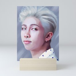 RAPMONSTER BTS Mini Art Print