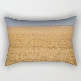Harvest Near Garrison, ND 7 Rectangular Pillow