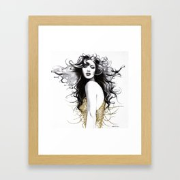 """Sugar"" Framed Art Print"