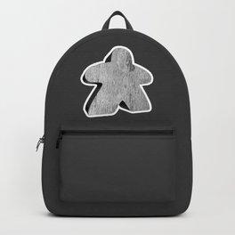 Giant White Meeple Backpack