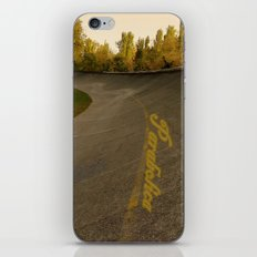 Parabolica iPhone & iPod Skin
