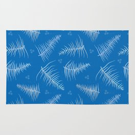 Frosted Fronds & Berries Rug