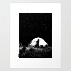 asc 455 - L'obscure clarté (The She-Wolf) Art Print