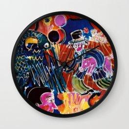 Carnival             by  Kay Lipton Wall Clock