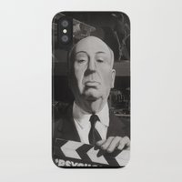 hitchcock iPhone & iPod Cases featuring Hitchcock by Zach Schoenbaum