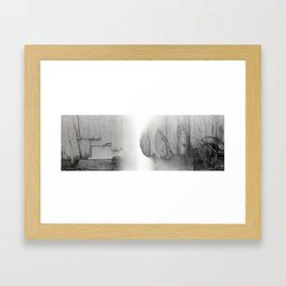 In Shelter. Framed Art Print