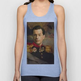 Stephen Colbert 19th Century Classical Painting Unisex Tank Top