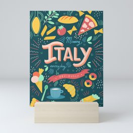 Missing Italy everyday poster Mini Art Print