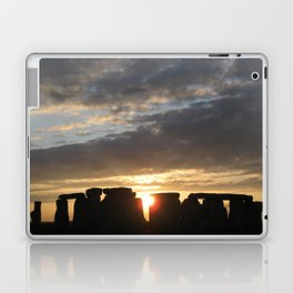 Sunset at Stonehenge Laptop & iPad Skin