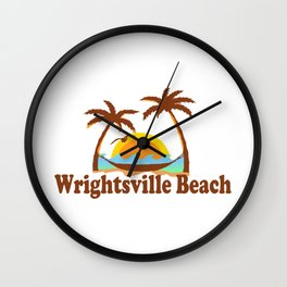 Wrightsville Beach - North Carolina. Wall Clock