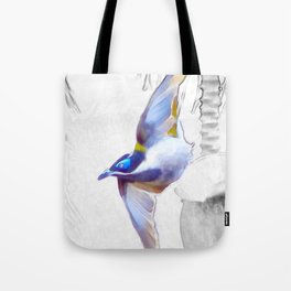 Blue-faced Honeyeater Tote Bag