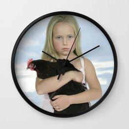 Mea Domina IIa Wall Clock