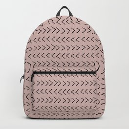 Arrows on Oyster Pink Backpack