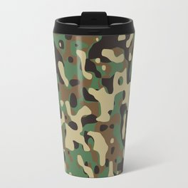 Forest camouflage pattern Travel Mug