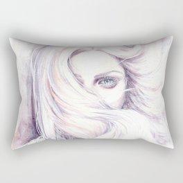 Aura - wind illustration Rectangular Pillow